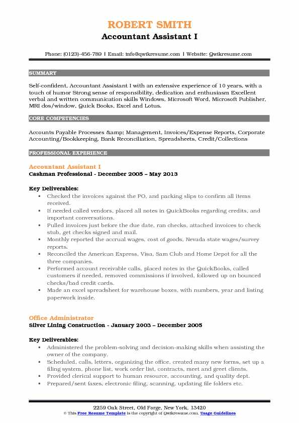 accountant assistant resume samples qwikresume for account indian format pdf objective Resume Resume For Account Assistant Indian Format