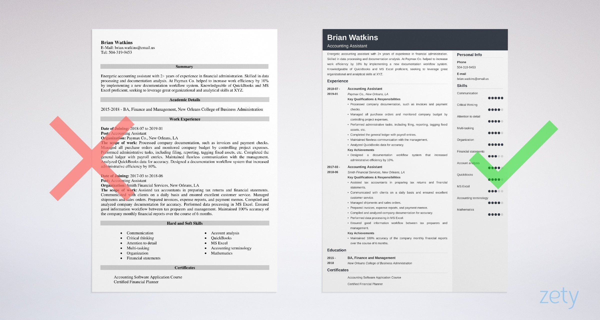 accounting assistant resume sample writing guide tips for account indian format example Resume Resume For Account Assistant Indian Format