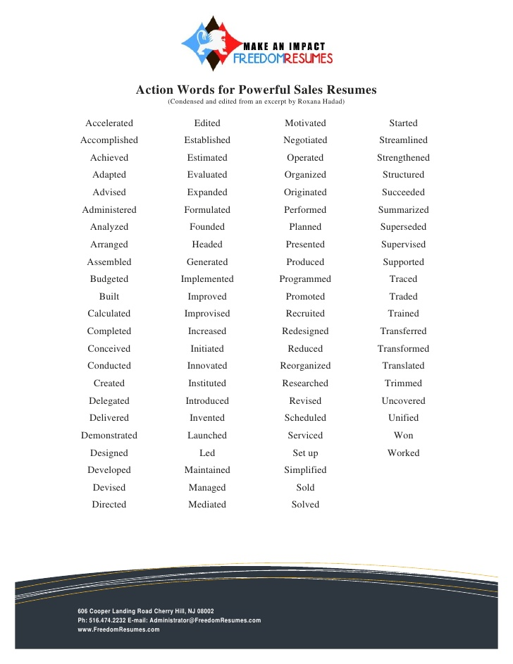 action words for successful resumes strong verbs resume interests examples post wordpress Resume Strong Verbs For Resume