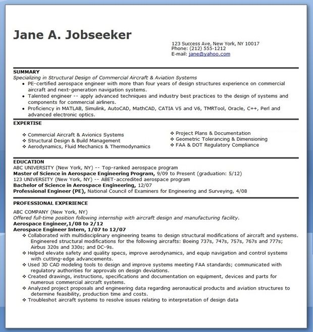 aerospace engineer resume sample downloads engineering student training employees on h1b Resume Aerospace Engineering Student Resume