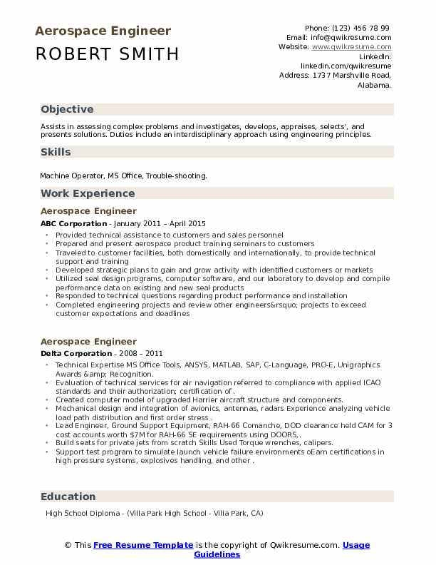 aerospace engineer resume samples qwikresume engineering student pdf occupational therapy Resume Aerospace Engineering Student Resume
