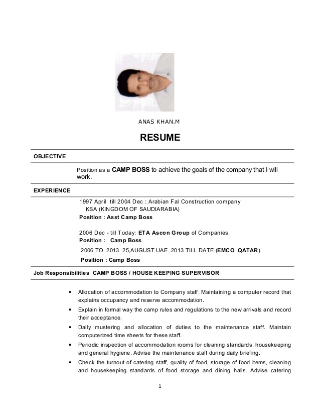 anash khan cv catering boss resume microsoft word executive template financial analyst Resume Catering Camp Boss Resume