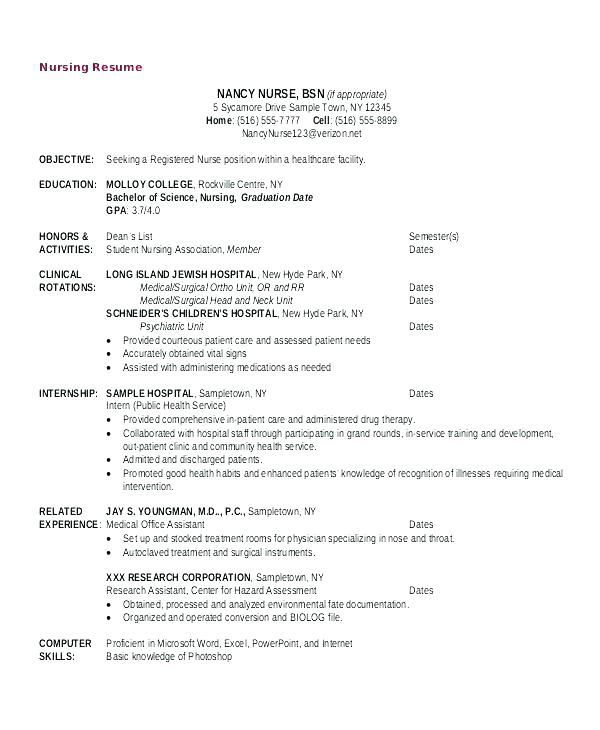 another name for resume nursing school objective manager job description career change Resume Nursing Goals And Objectives For Resume