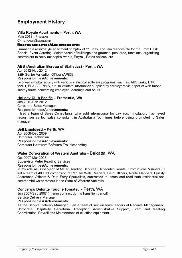 apartment maintenance technician resume awesome hospitality mgmt job examples samples Resume Apartment Maintenance Resume