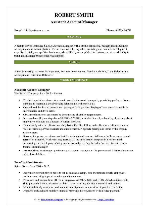 assistant account manager resume samples qwikresume for indian format pdf salesforce Resume Resume For Account Assistant Indian Format