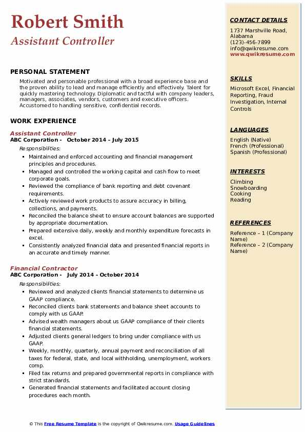 assistant controller resume samples qwikresume pdf oracle access manager general summary Resume Oracle Access Manager Resume