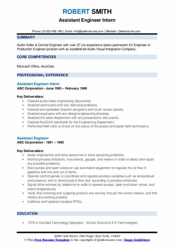 assistant engineer resume samples qwikresume format for cts company pdf eye catching Resume Resume Format For Cts Company