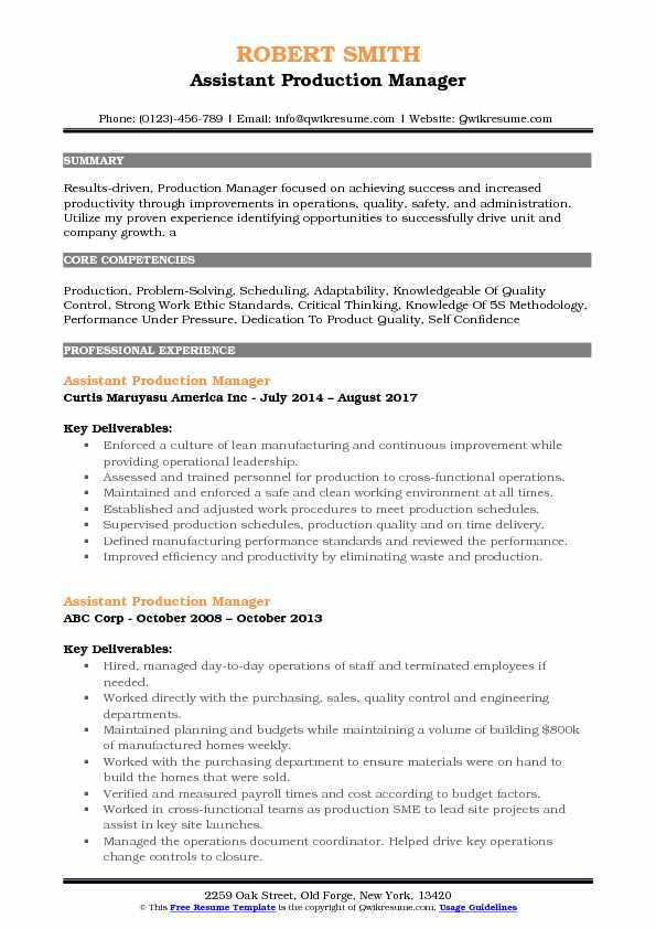 assistant production manager resume samples qwikresume garment factory pdf system analyst Resume Garment Factory Manager Resume