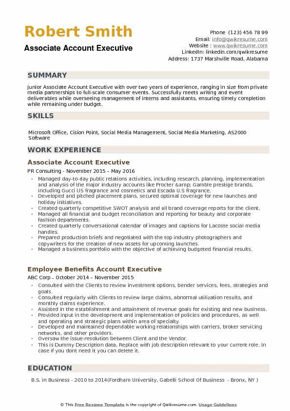 associate account executive resume samples qwikresume examples pdf organizational Resume Account Executive Resume Examples