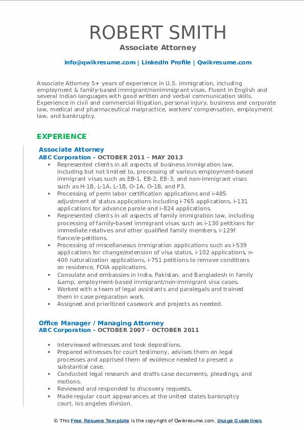 associate attorney resume samples qwikresume family law pdf dance instructor the best Resume Family Law Attorney Resume
