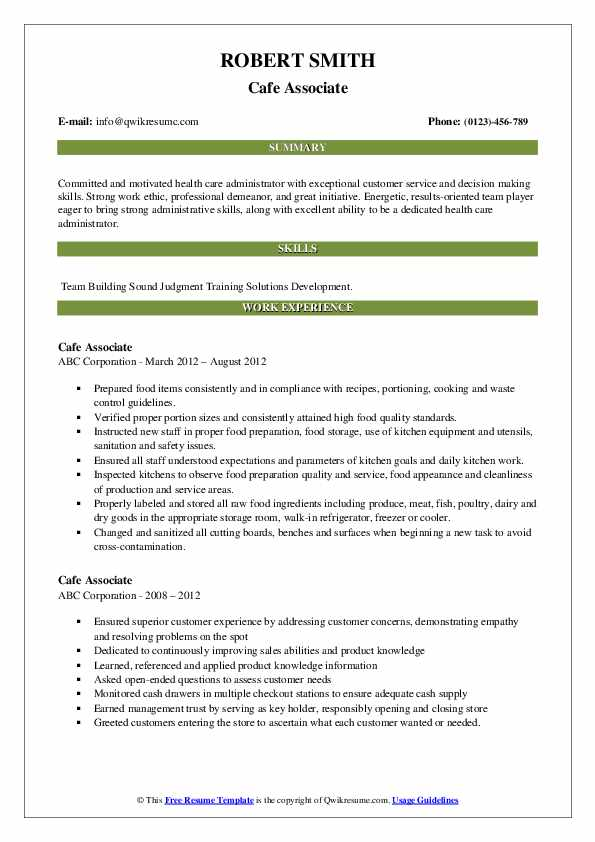 associate resume samples qwikresume customer service pdf best help websites lecturer Resume Cafe Customer Service Resume