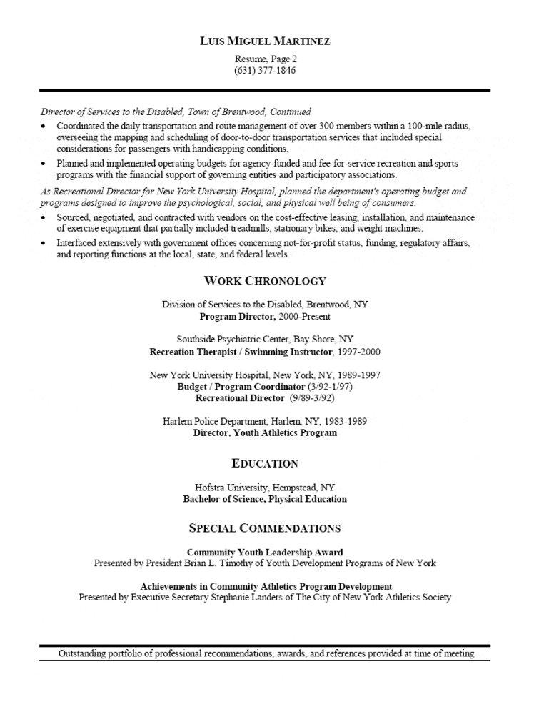 athletic director and facility manager resume youth program palliative care should you Resume Youth Program Director Resume
