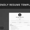 ats friendly resume template format guide sample cv templates free best professional Resume Free Ats Resume Templates