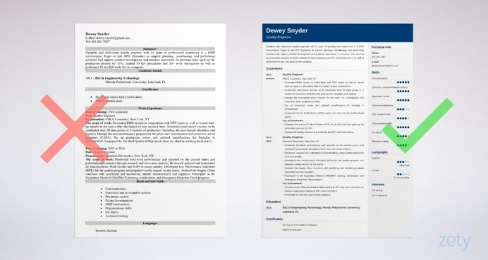 basic font for resume electronics quality engineer hotel general manager template Resume Electronics Quality Engineer Resume