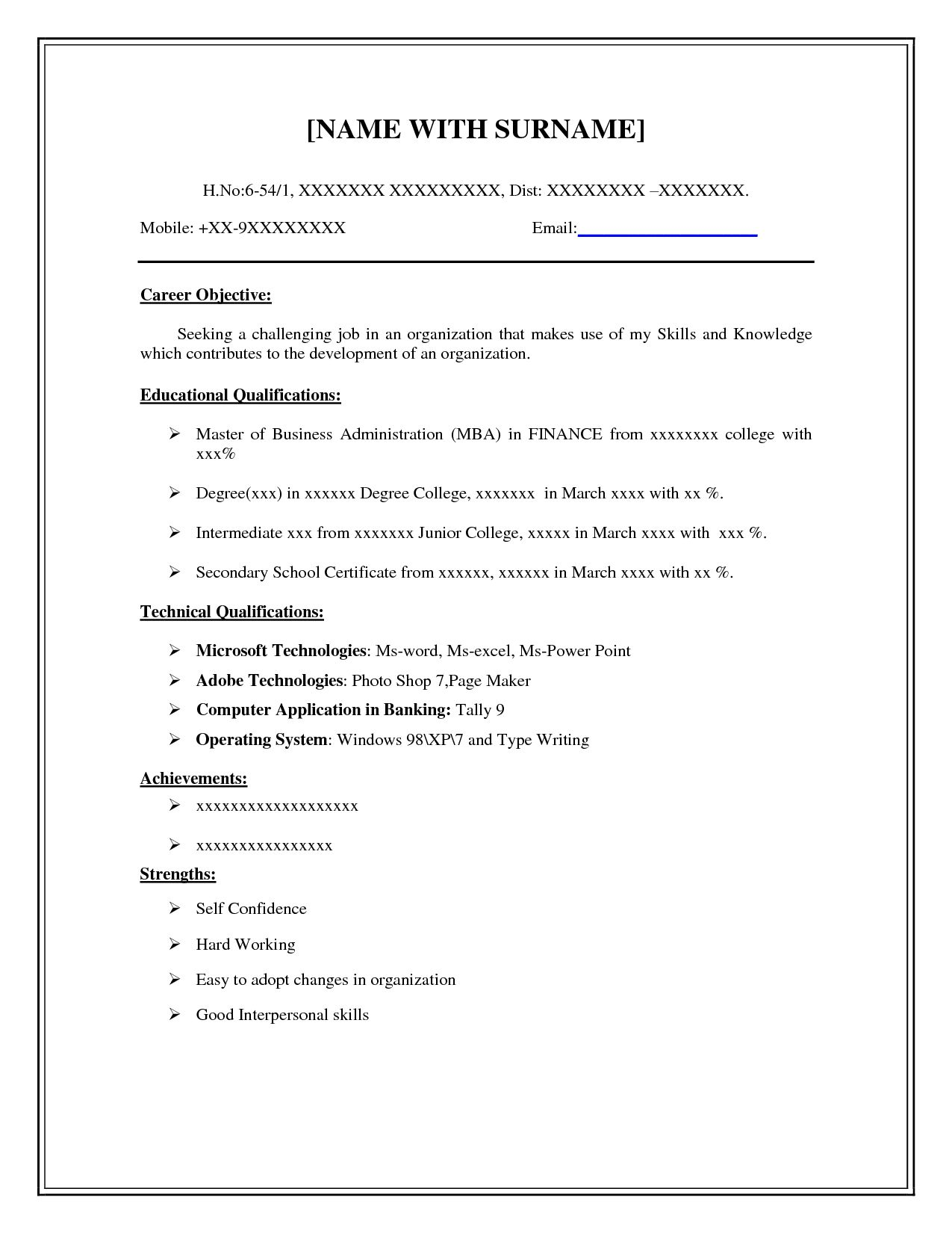 basic resume examples for students best easy simple mail subject military awards on Resume Easy Simple Resume Examples