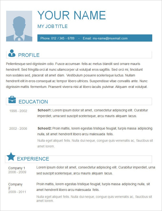 basic resume templates pdf free premium format template plain great gatsby clerical Resume Resume Format Template Free Download