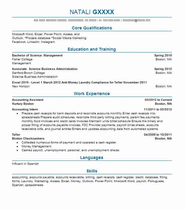 best accounting assistant resume example livecareer for account indian format listing Resume Resume For Account Assistant Indian Format