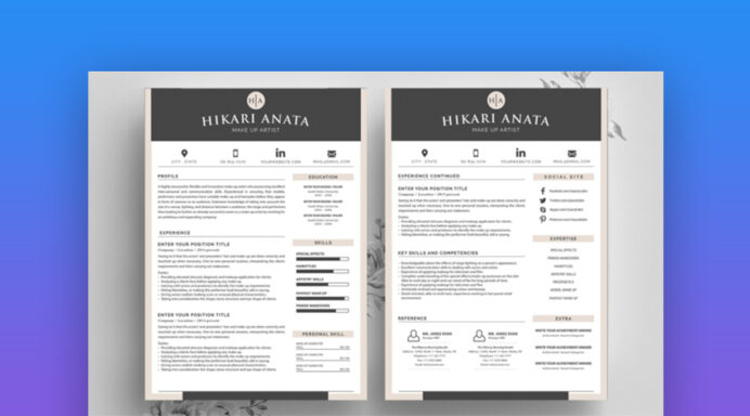 best contemporary resume cv templates modern styles template elements2 gpa on Resume Contemporary Modern Resume Template