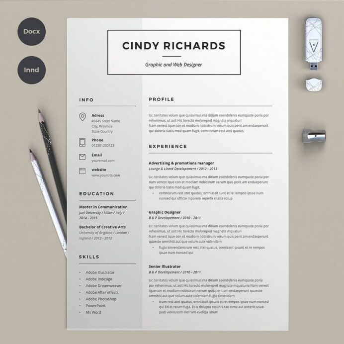 best cv resume templates creative design template writing in linkedin review sally beauty Resume Writing A Resume In 2020