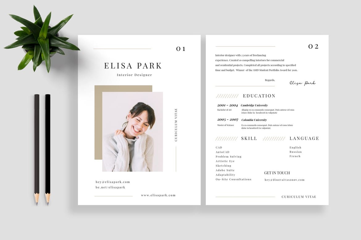 best cv resume templates theme for internal audit examples personal marketing animal Resume Resume Templates For 2020