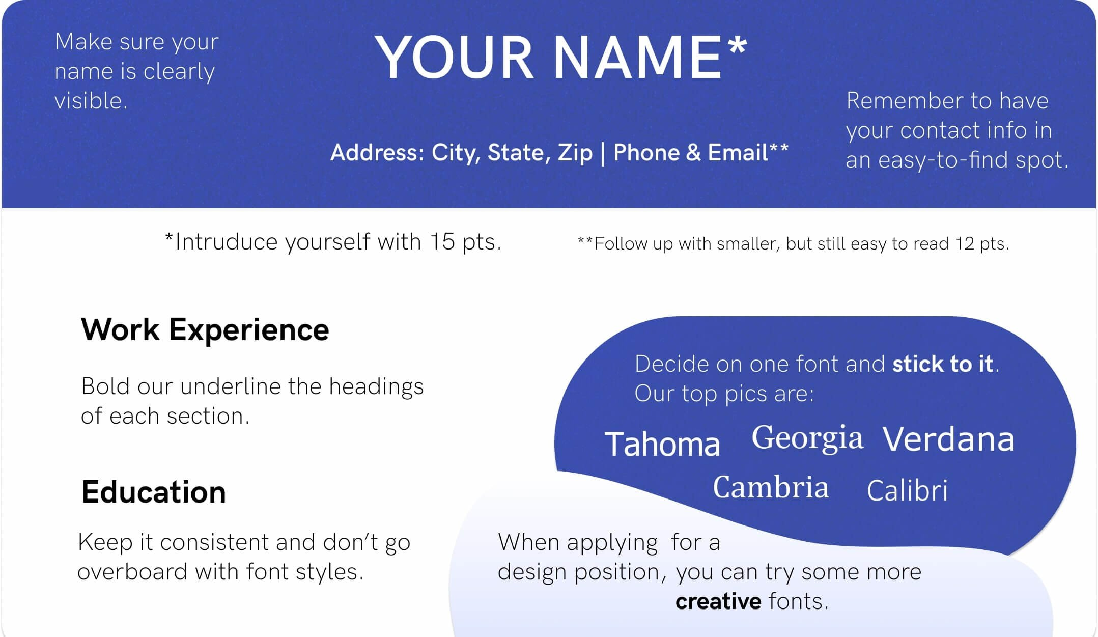 best font for resume size standard professional pairings text format fonts example Resume Best Text Format For Resume
