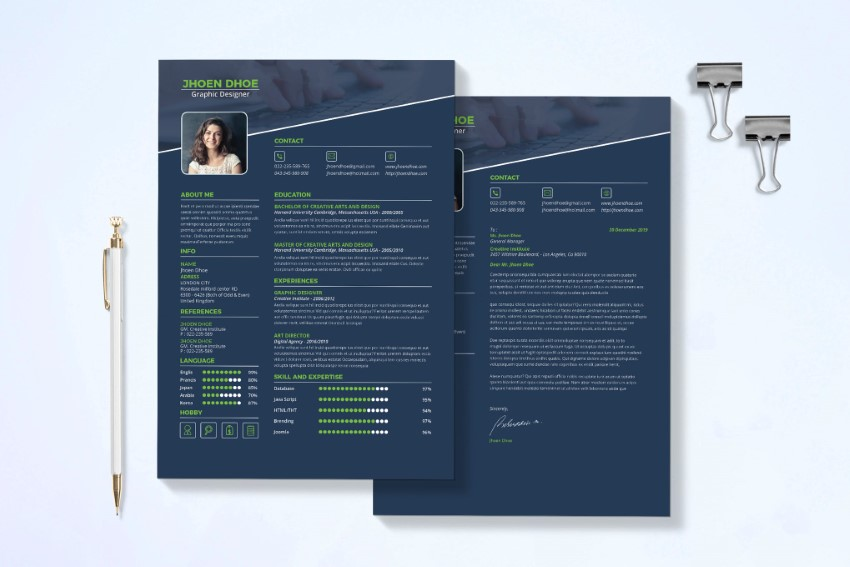 best free modern resume templates clean cv design formats contemporary template feature Resume Contemporary Modern Resume Template
