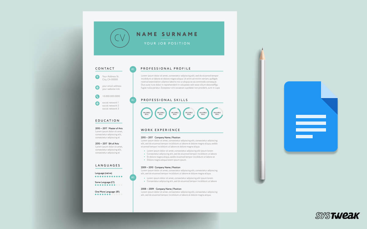 best google docs resume templates and to use them free drive aws years experience Resume Free Google Drive Resume Templates