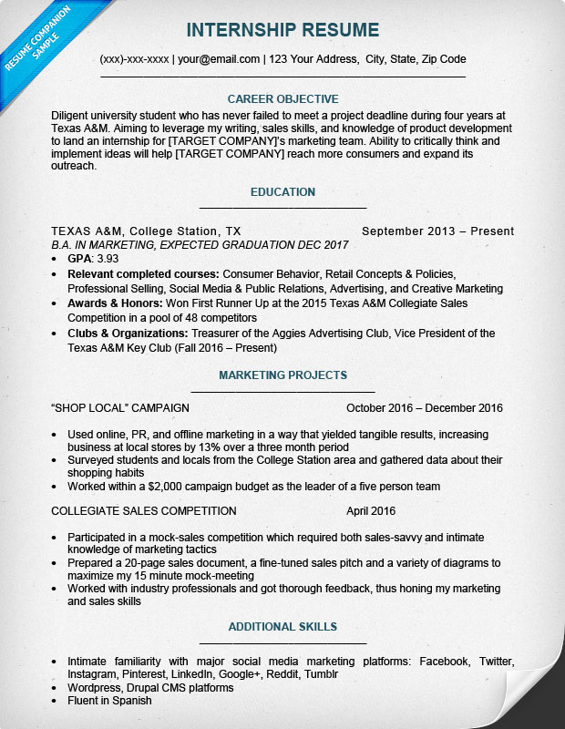 best internship resume templates to for free wisestep sample college student looking Resume College Student Resume For Internship