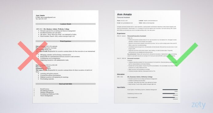 best resume format professional samples job examples formats audition and headshot Resume Job Resume Examples 2020