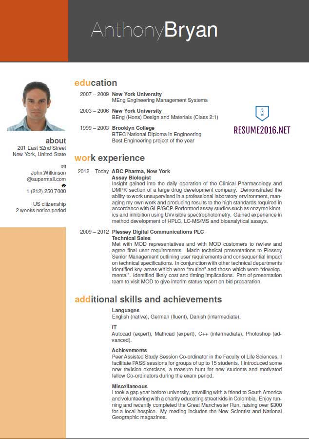 best resume format which one to choose in new color examples simple job samples for Resume Best New Resume Format