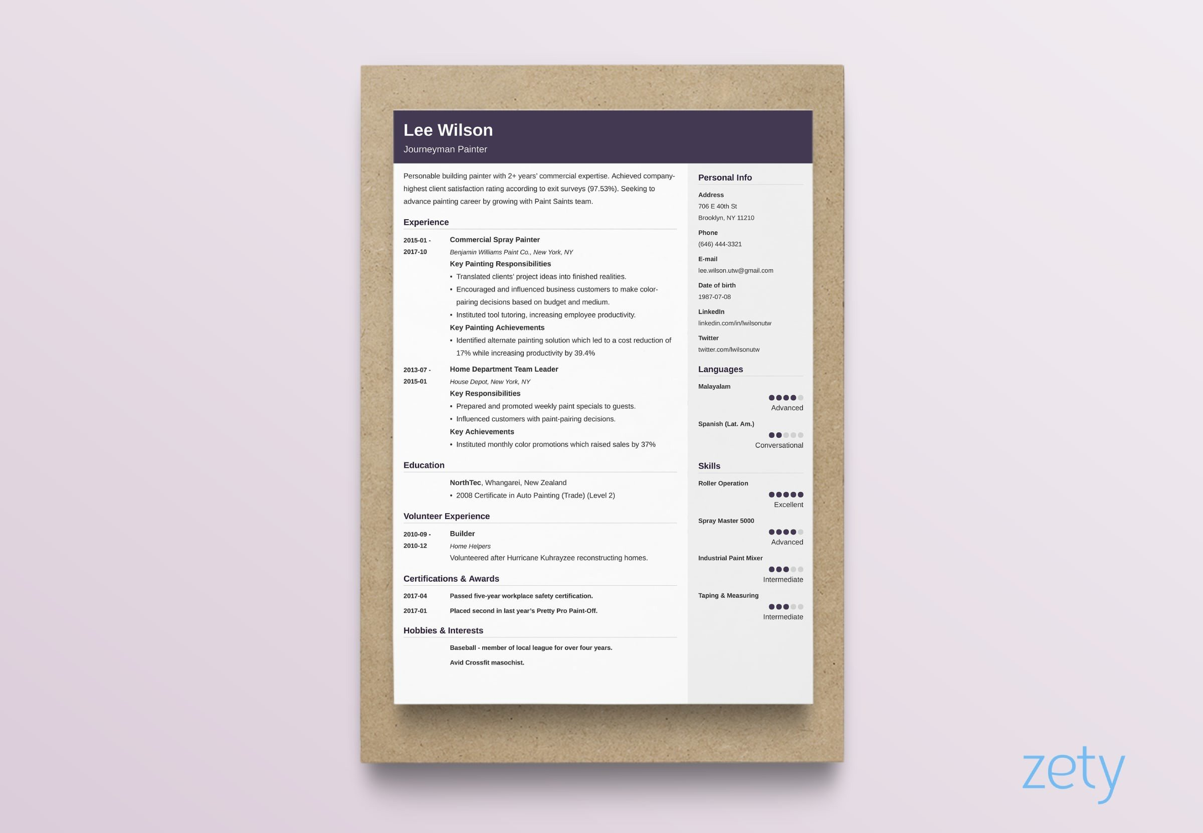best resume layouts examples from idea to design simple format layout cubic resident Resume Simple Resume Format Examples