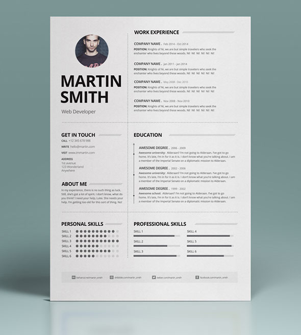 best resume templates design graphic junction well designed template mental health job Resume Well Designed Resume Templates