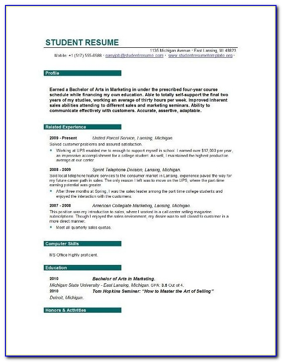 blank resume templates and builder student with free vincegray2014 for college students Resume Free Resume Builder For College Students