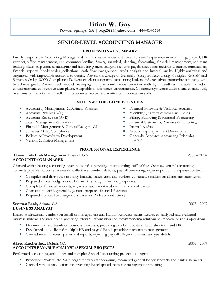 brian final resume core competencies for accounting lva1 app6892 thumbnail school Resume Core Competencies For Accounting Resume