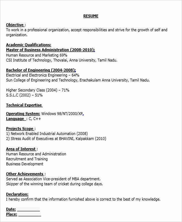 business development executive resume inspirational fresher examples engineering data Resume Business Development Executive Resume