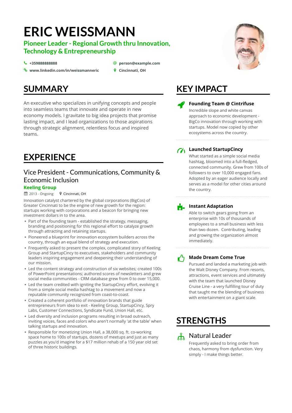 business owner entrepreneur resume examples marketing truly free templates composer Resume Marketing Resume Examples 2020