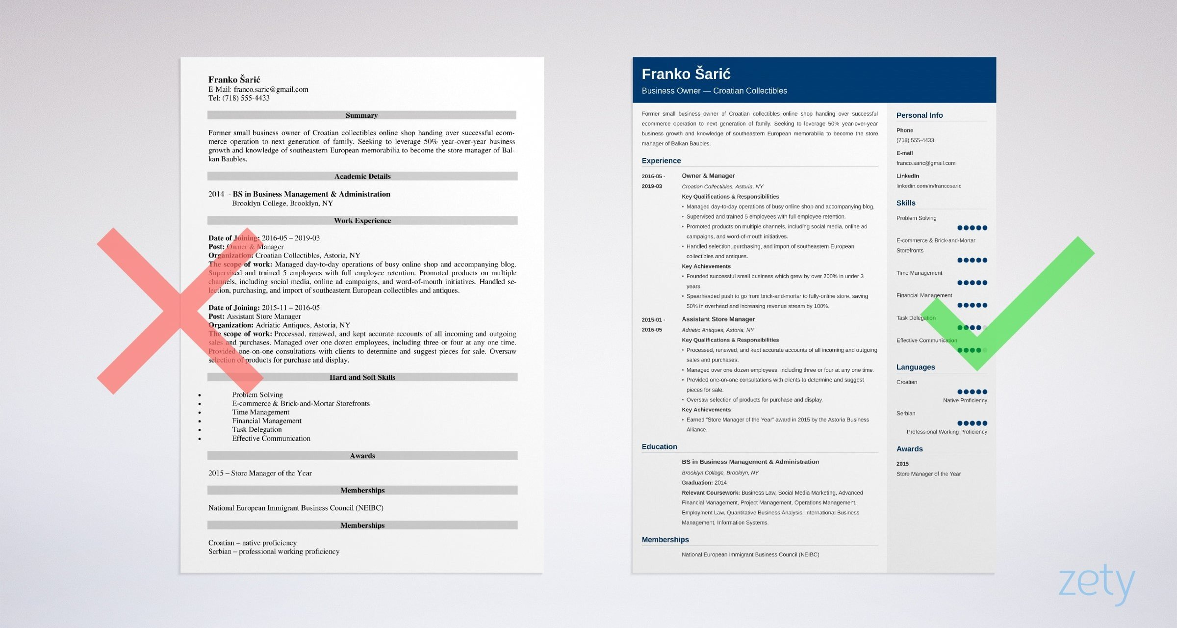 business owner resume samples template guide former example objective for manufacturing Resume Former Business Owner Resume