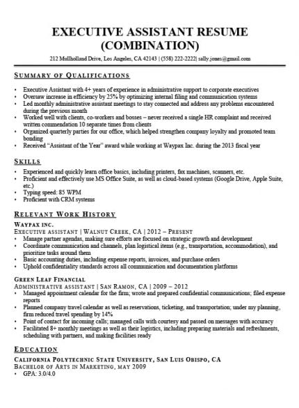 by qualification on resume format highlights of qualifications job description secretary Resume Qualifications For Resume