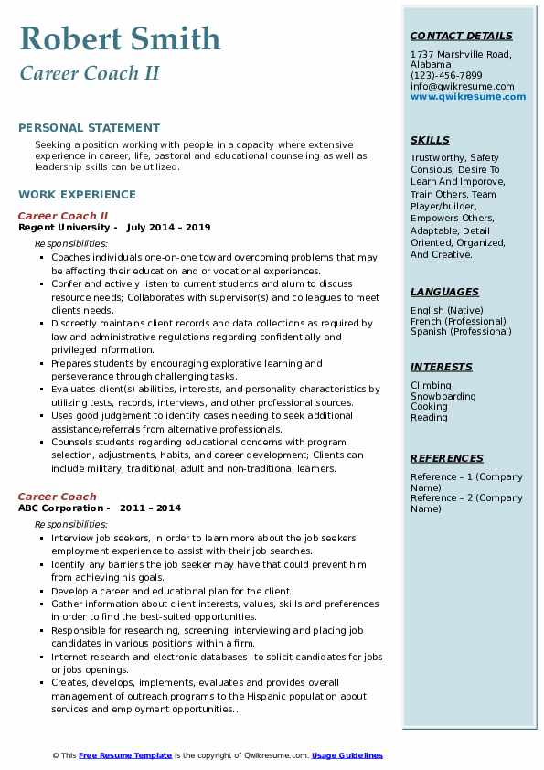 career coach resume samples qwikresume professional coaching pdf supply chain manager Resume Professional Coaching Resume