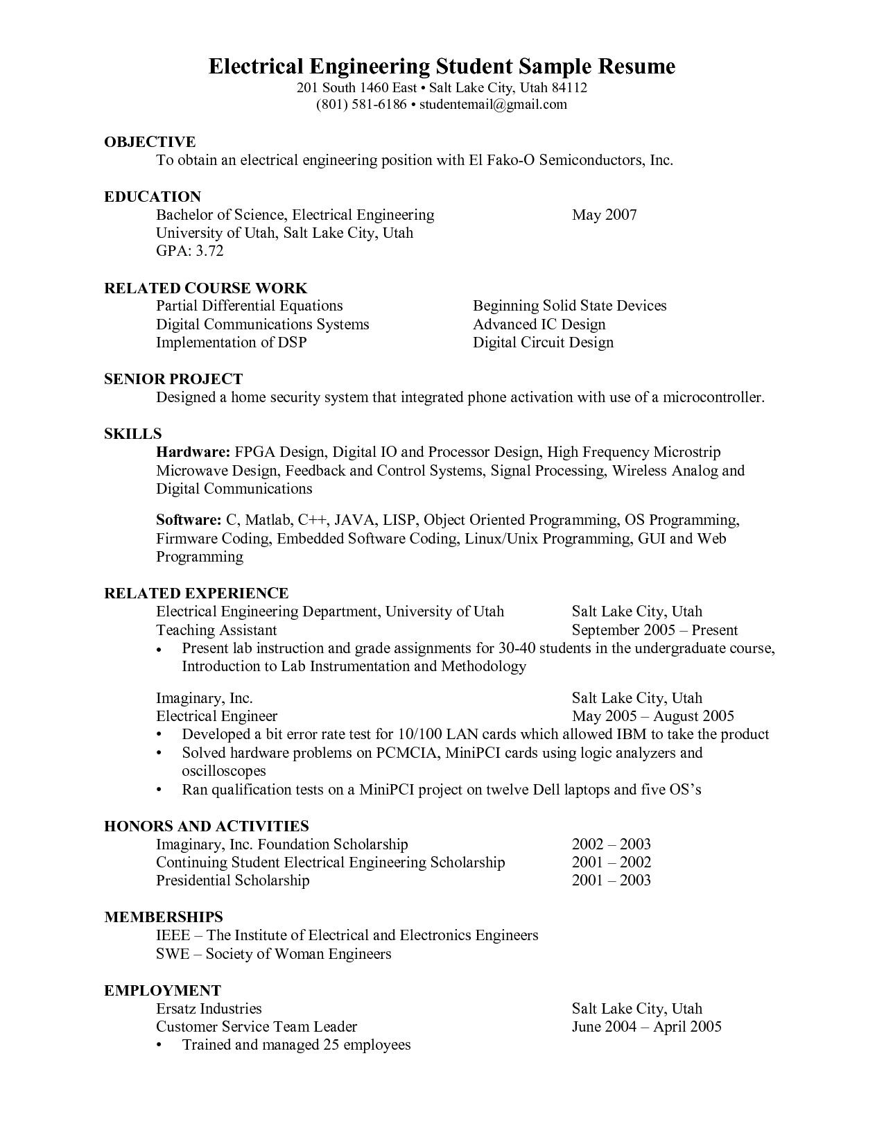 career objective for engineering student resume best examples amazing walgreens customer Resume Amazing Objective For Resume
