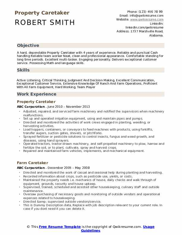 caretaker resume samples qwikresume examples pdf all services certified scrum product Resume Caretaker Resume Examples