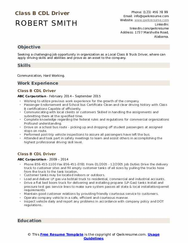 cdl driver resume samples qwikresume pdf the best free template playlist simple layout Resume Cdl Class A Resume