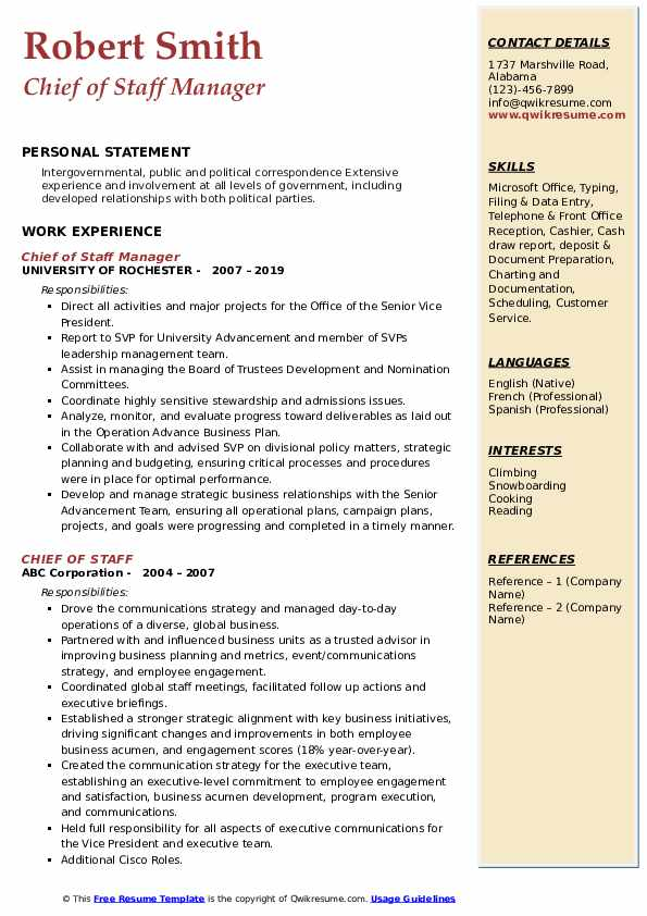 chief of staff resume samples qwikresume job pdf agriculture forwarding through email Resume Chief Of Staff Job Resume