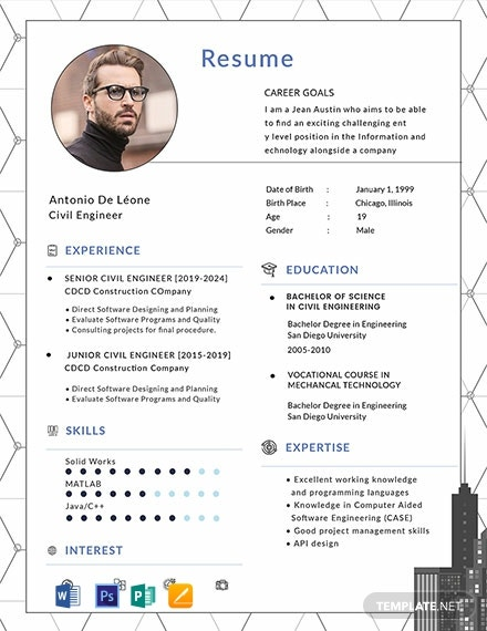 civil engineer resume cv template word apple publisher free 440x570 crna example safety Resume Civil Engineer Resume Template Download
