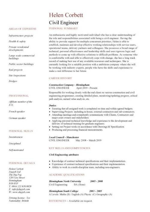 civil engineering cv resume free templates engineer highway design latest updated format Resume Highway Design Engineer Resume