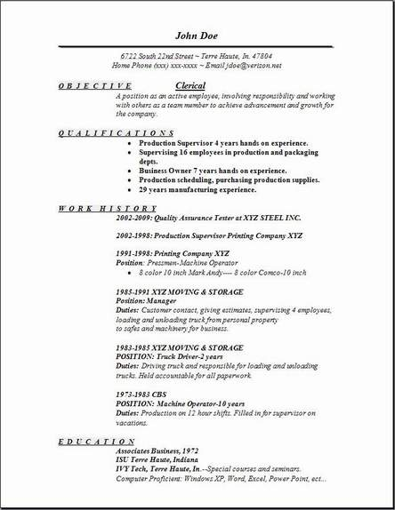 clerical resume examples samples free edit with word experience on create infographic Resume Clerical Experience On Resume