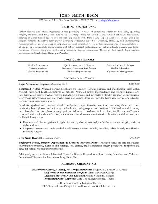 click here to this nursing professional resume template http resumete objective examples Resume Sample Resume For Healthcare Professional