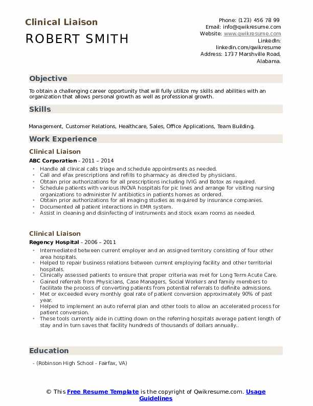 clinical liaison resume samples qwikresume medical sample pdf buyer duties for aircraft Resume Medical Liaison Resume Sample