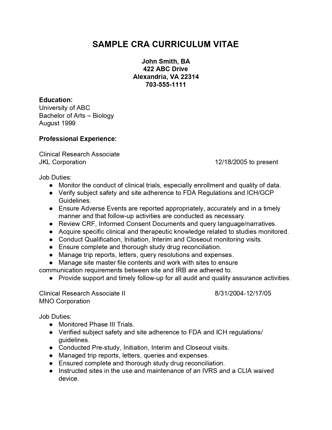clinical research assistant resume google docs templates technical samples etl testing Resume Research Assistant Resume