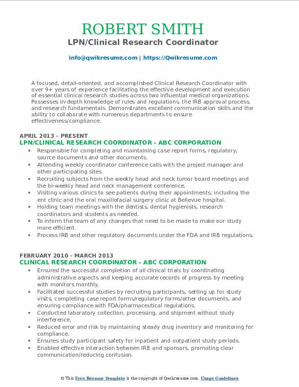 clinical research coordinator resume samples qwikresume senior pdf template with pie Resume Senior Clinical Research Coordinator Resume